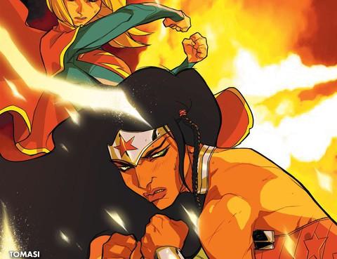 超人神奇女俠
