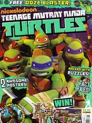 忍者神龜2012:UK雜誌配套漫畫